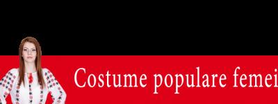 Costume populare femei