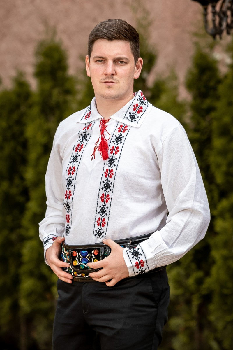 Camasa barbateasca traditionala Infinit